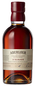 Cask-strength, fathomlessly deep, and satisfying Aberlour A'Bunadh is the pinnacle achievement of this legendary Speyside distillery, which was founded in 1879 by James Fleming.