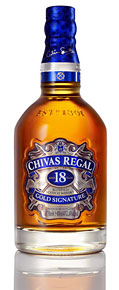 With the pedigree of malt whiskies such as Strathisla and The Glenlivet at its heart, Chivas Regal 18 is a monumental expression that defines what classical blended Scotch whisky can and should be.